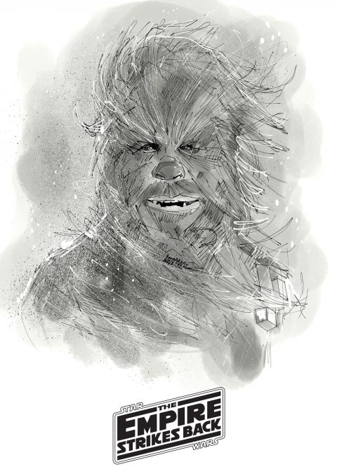 CHEWBACCA illustration