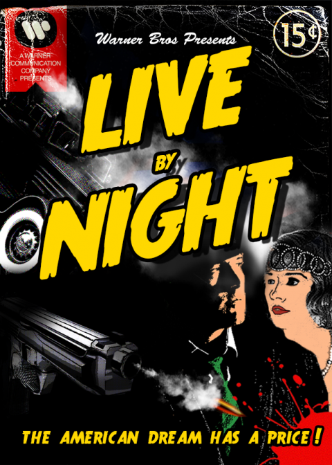 Live By Night – Vintage Magazine Poster