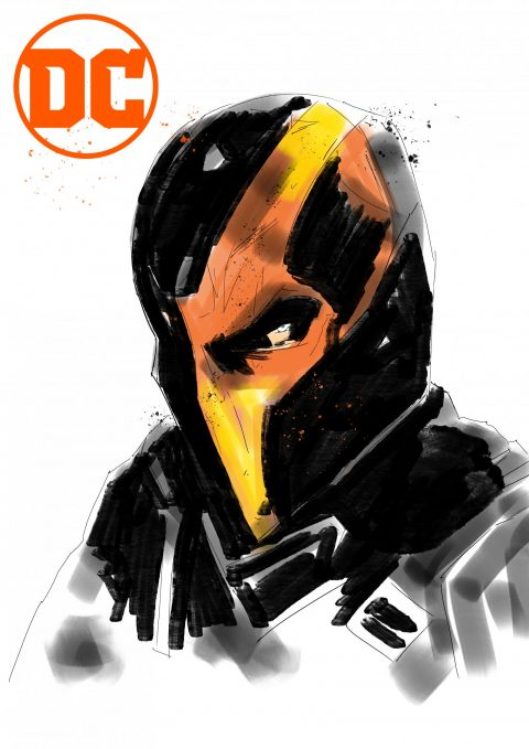 DEATHSTROKE illustration
