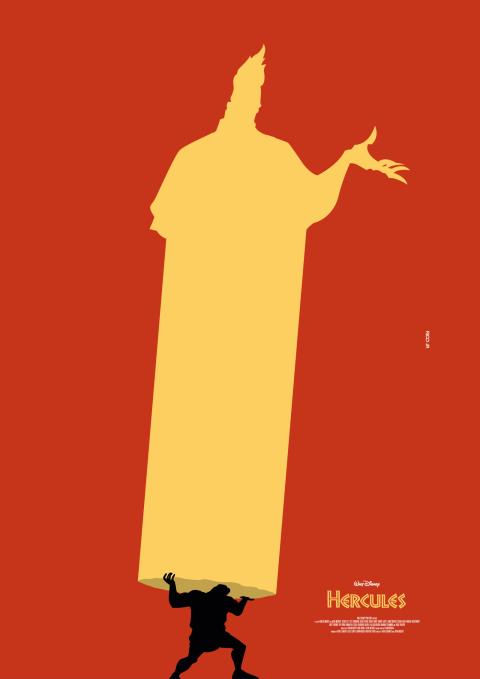 HERCULES Poster Art