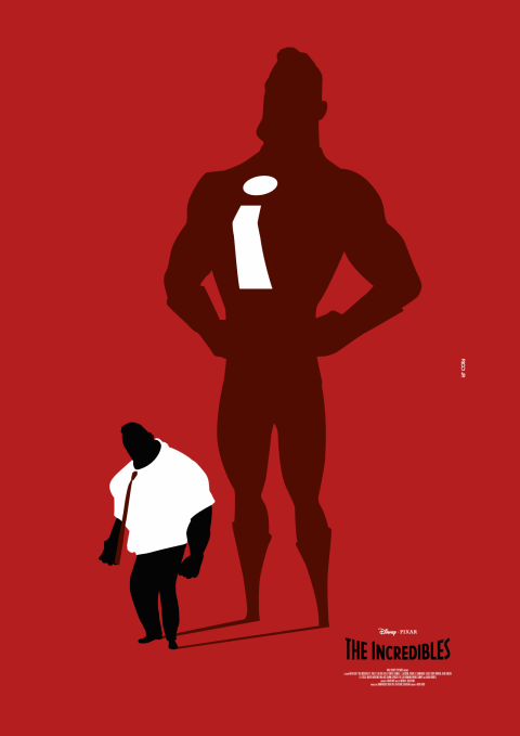 THE INCREDIBLES Poster Art