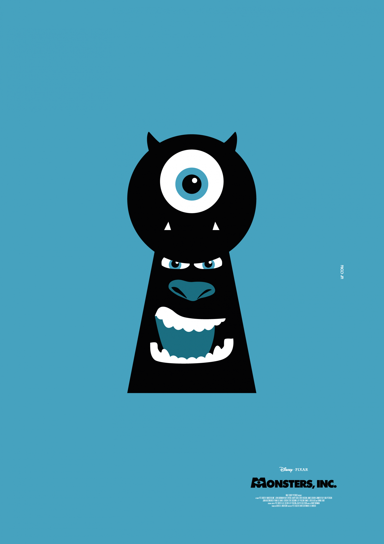 monsters inc poster art posterspy