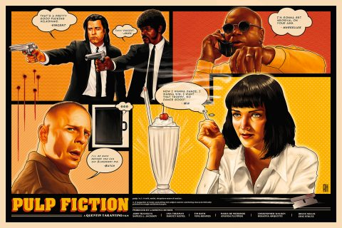 Pulp Fiction (Original Film Poster)