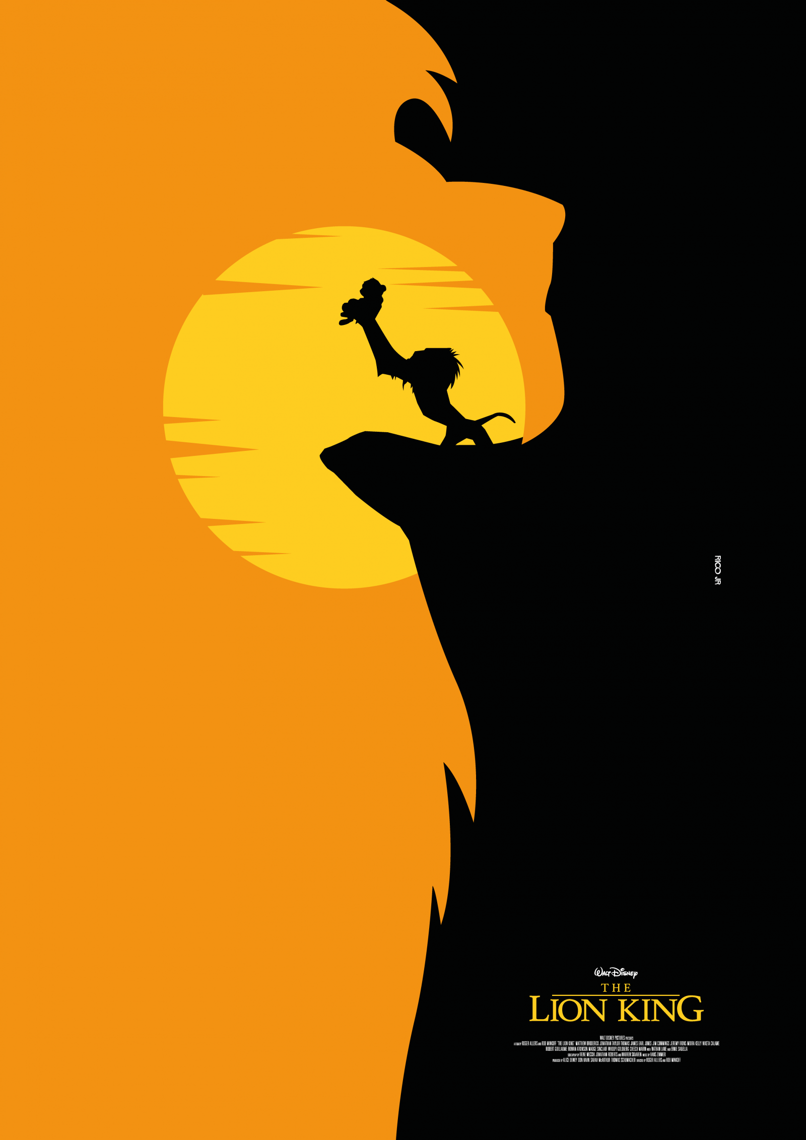 the lion king poster art