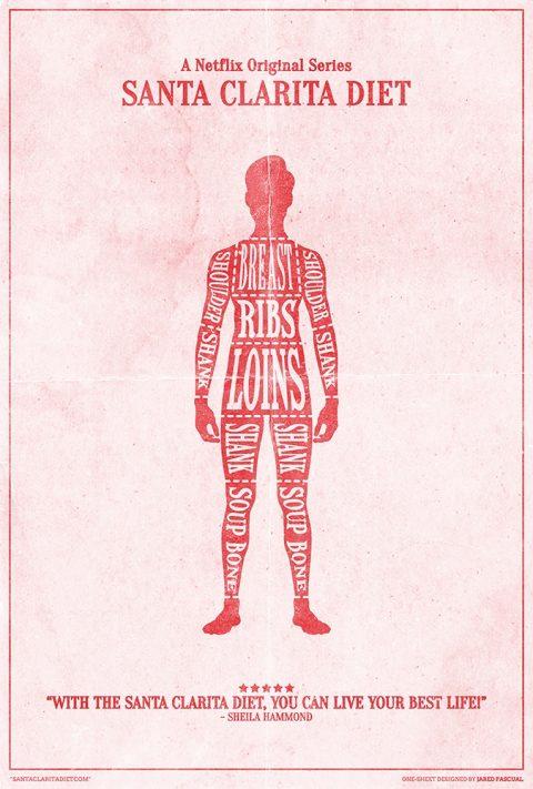 Santa Clarita Diet Poster Design