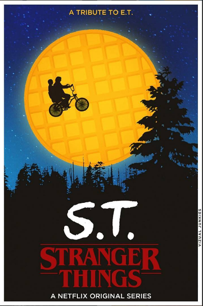 Stranger Things a tribute to ET