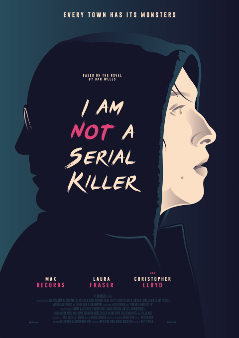 I AM NOT A SERIAL KILLER Poster Art
