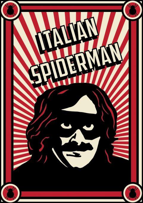 Italian Spiderman – Propaganda Poster