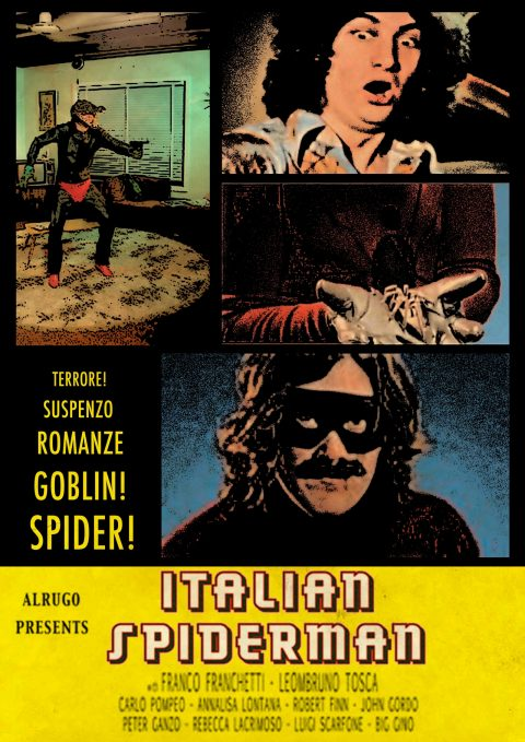 Italian Spiderman – 70s Grindhouse