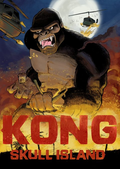 KONG: Skull Island Poster Submission