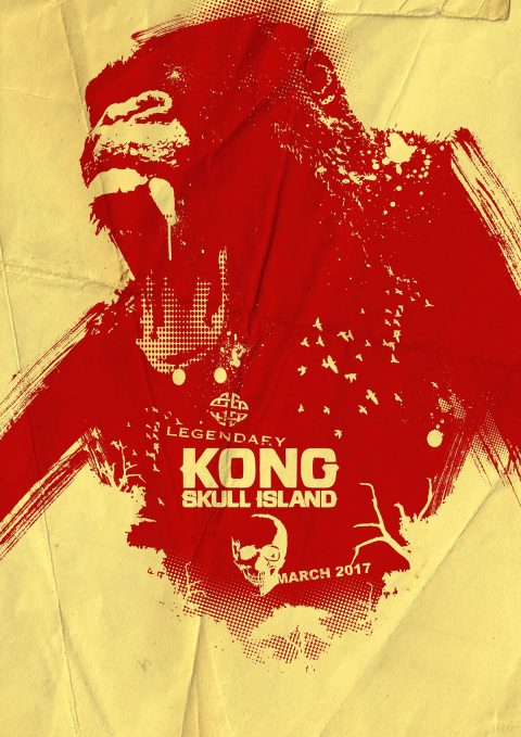 KONG SKULL ISLAND artwork…