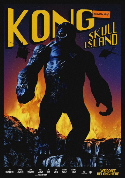 Kong: Skull Island – Vintage Style