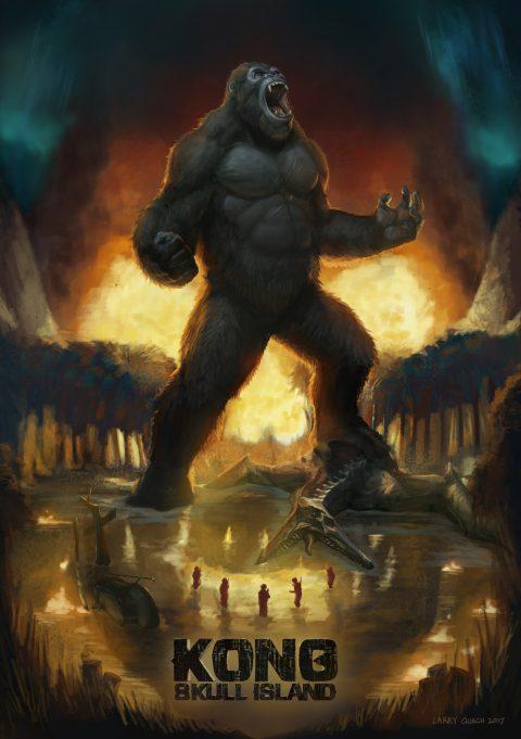 Kong vs Skull Crawler.