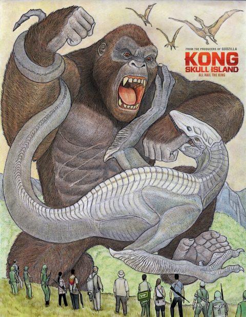Kong vs Skull Crawler