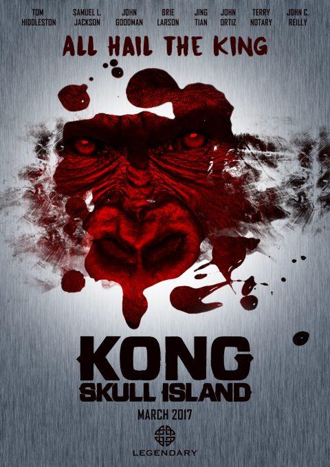 KONG SKULL ISLAND aletrnative poster