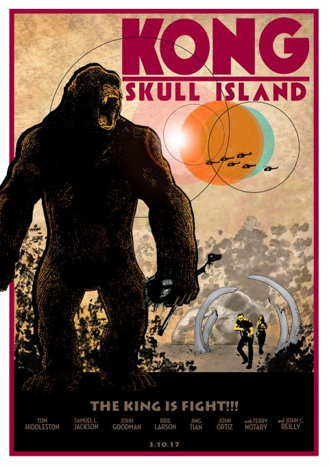 Kong: Skull Island  The King is Fight!!!