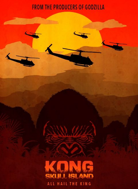 Kong: Skull Island – King of the Mountain fan poster