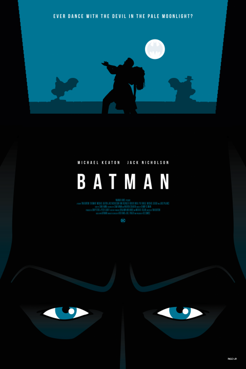 BATMAN 1989 Poster Art