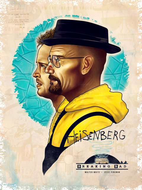 Breaking Bad (Tribute Poster)