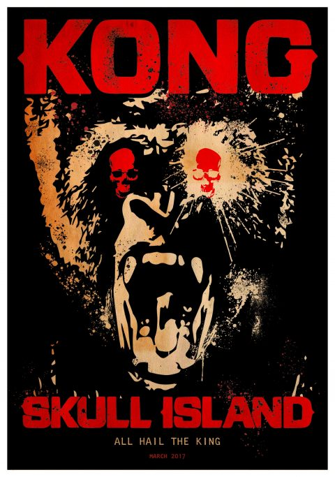 LONG LIVE THE KING Kong Poster Design