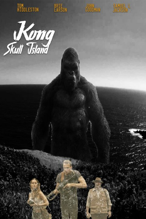 Skull Island- Black And White