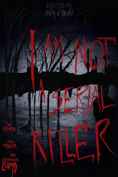 I am not a serial killer – alternative poster