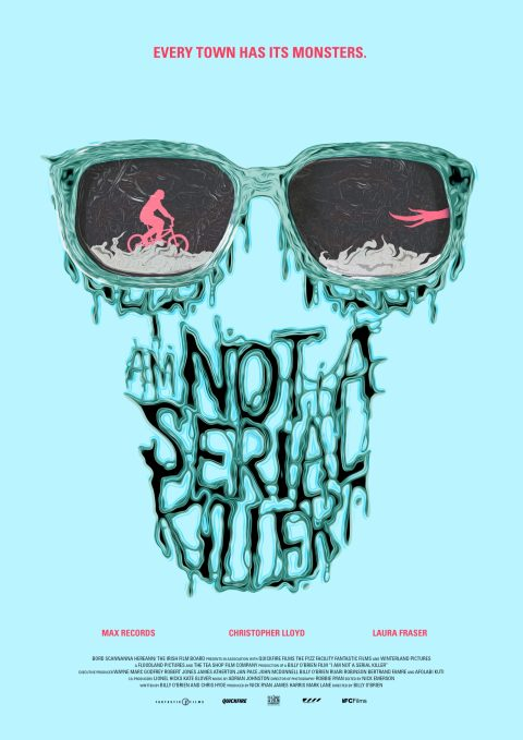 I Am Not A Serial Killer Poster Design