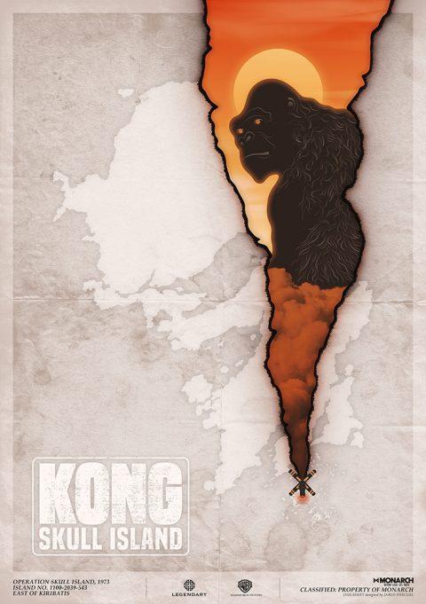 Kong Skull Island Poster Design
