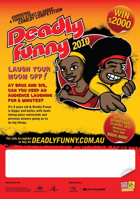 DEADLY FUNNY – MICF 2010