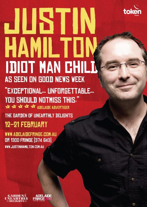 JUSTIN HAMILTON – IDIOT MAN CHILD