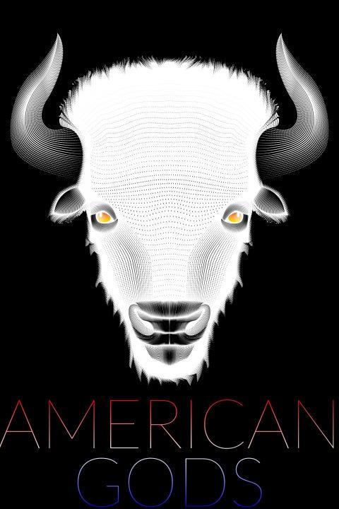 American Gods (White Buffalo) vector poster