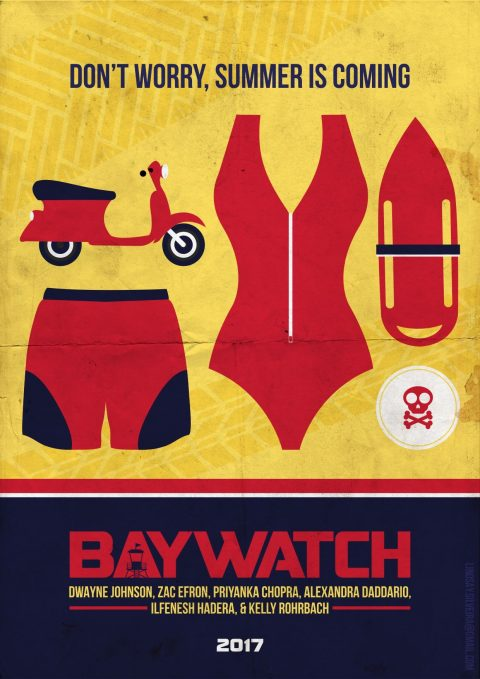 Baywatch Movie Poster (2017)