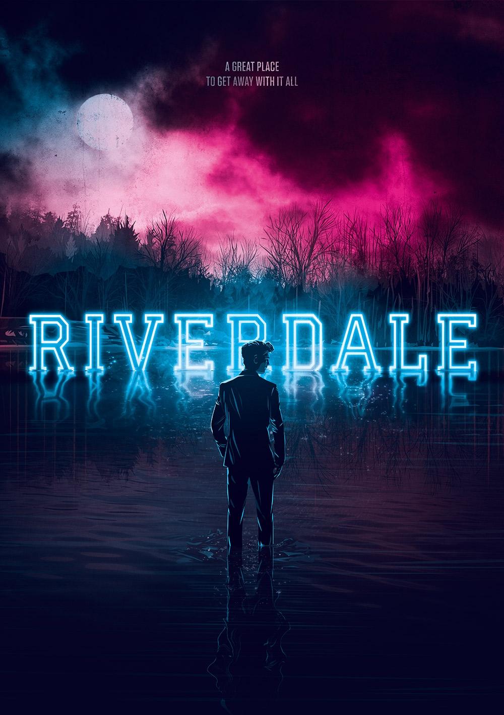 Resultado de imagen de riverdale poster