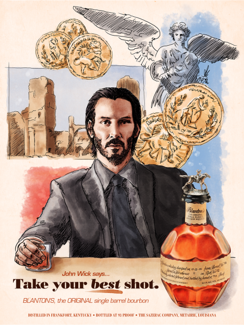 John Wick for Blanton's