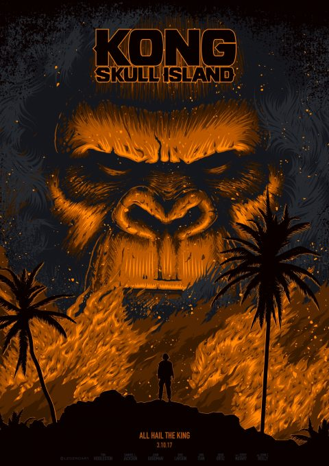 The God of Skull Island (Gold Variant)