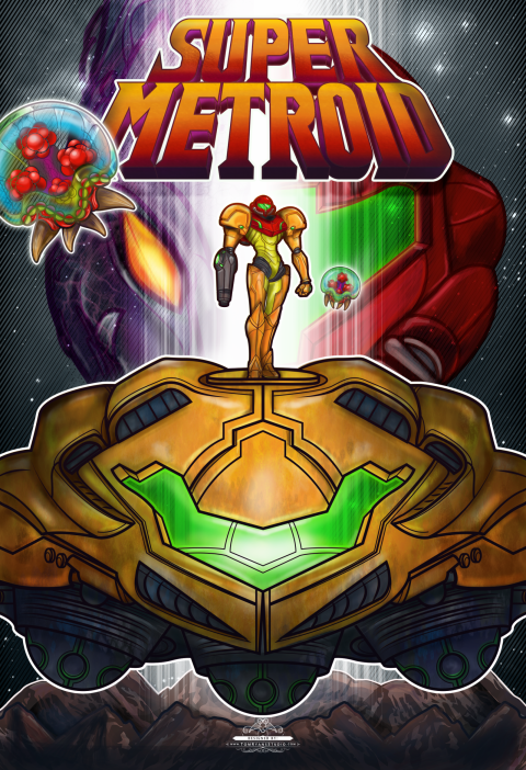 Super Metroid Bounty Hunter
