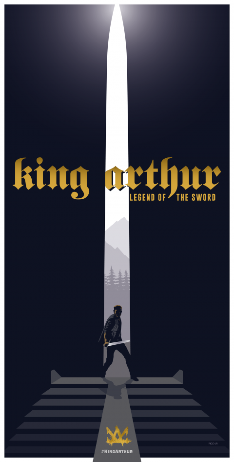 KING ARTHUR Poster Art