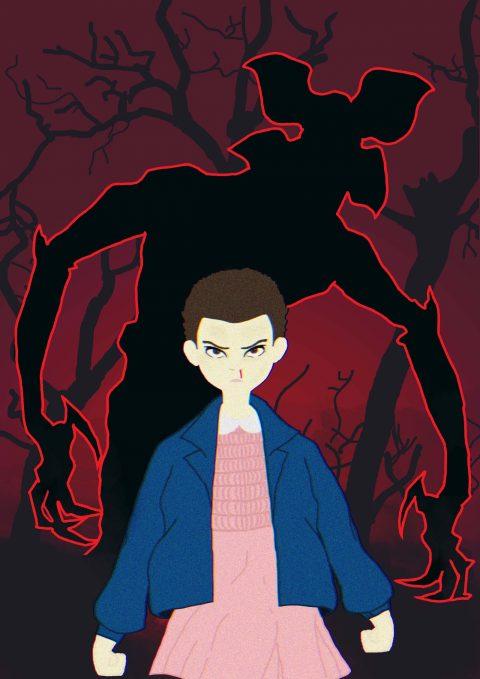 Eleven/Demogorgon