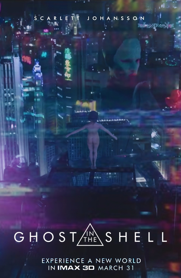 Ghost In The Shell 2017 Poster Posterspy