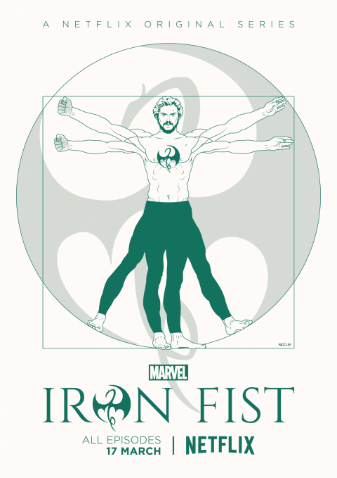 IRON FIST Poster Art