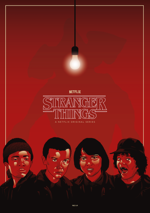 STRANGER THINGS Poster Art