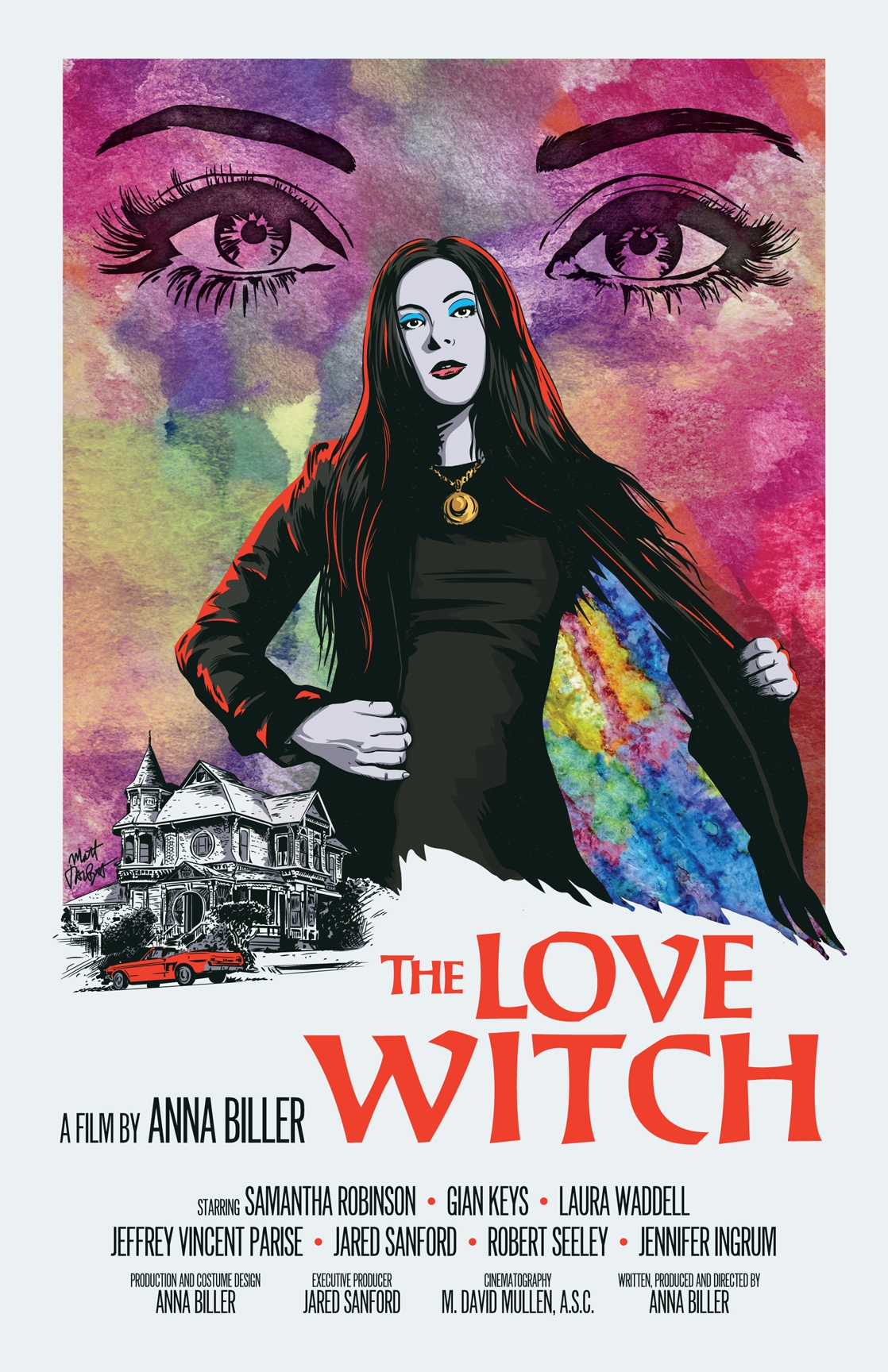 The love witch posterspy for Love the love