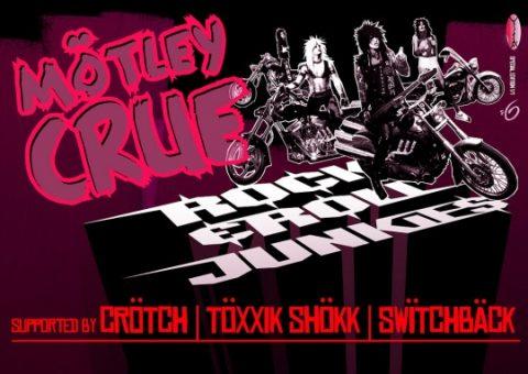 MOTLEY CRUE – ROCK N ROLL JUNKIE
