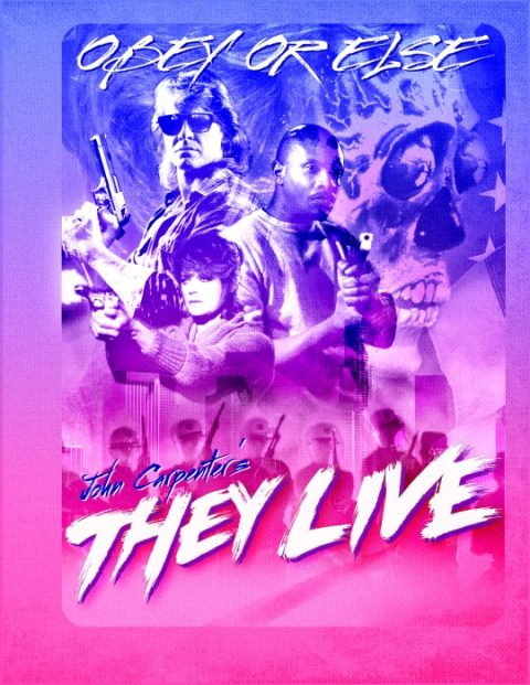 THEY LIVE, alternative Blu-Ray
