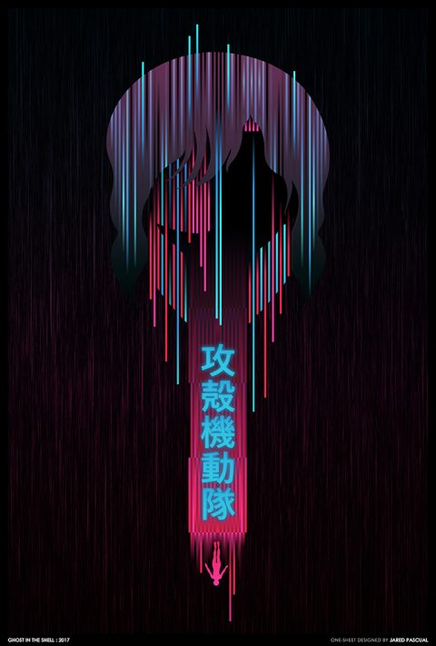 Ghost In The Shell 2017 Poster Design
