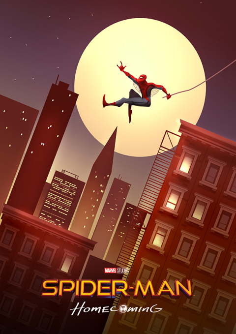 Spiderman homecoming Tribute