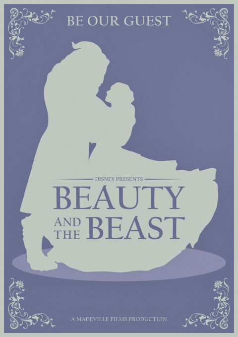 Disney Beauty & The Beast Alternative Movie Poster