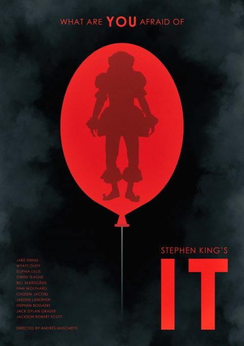 Steven King's IT Alternative Film Poster