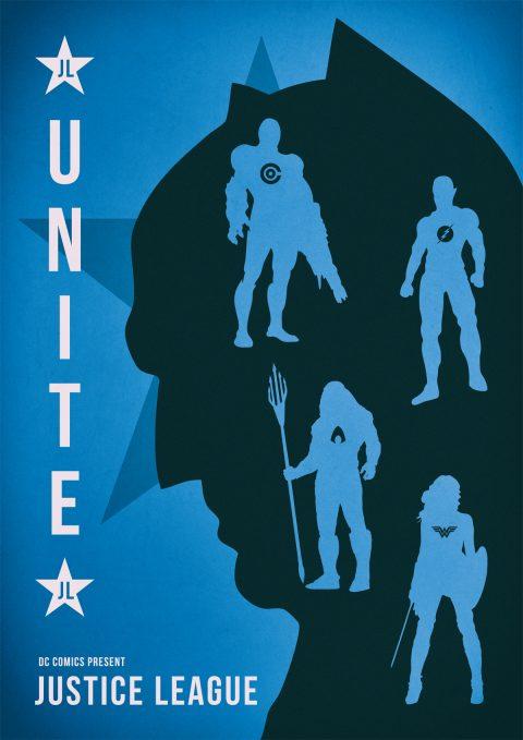 DC Comics Justice League 2017 Alternative Movie Poster Design