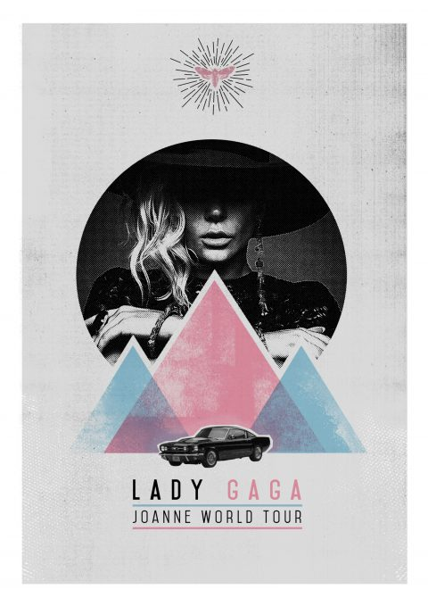 Lady Gaga – World Tour Poster